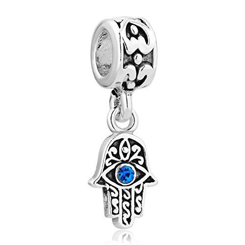 Sug Jasmin mal de ojo de egipcio pir/ámides Charm Beads para pulsera