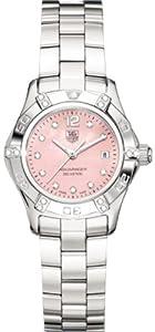 TAG Heuer Women's WAF141H.BA0813 Aquaracer 2000 Diamond Accented Watch image