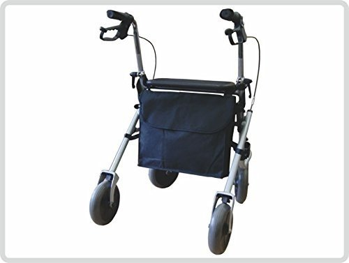Rollatortasche,schwarz - Tasche Einkauftasche Tragetasche,