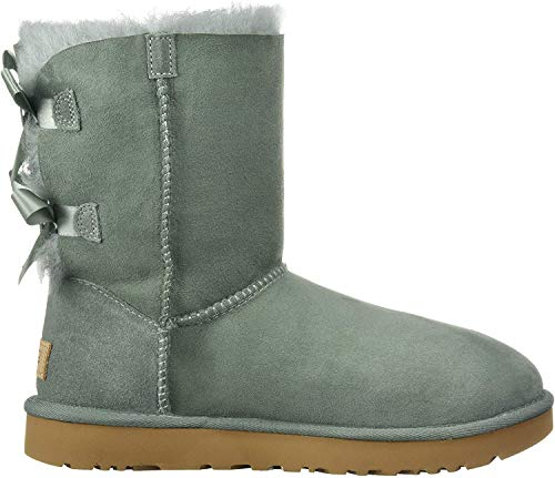 UGG Women's W Bailey Bow II Fashion Boot, sea Green, 8 M US