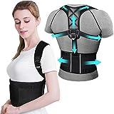 Haltungskorrektur Schulter Rücken ikeepi Verstellbar Atmungsaktiv Haltungstrainer mit Abnehmbarer Fitnessgürtel Haltungsbandage für Damen & Herren -