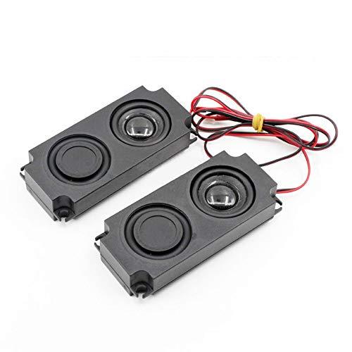 WNJ-TOOL, 2 stücke Tragbare Audio-Lautsprecher 10045 4Ohm 3W Doppel-Membran-Computer-Lautsprecher-LED-TV-Lautsprecher Heimkino-Lautsprecher