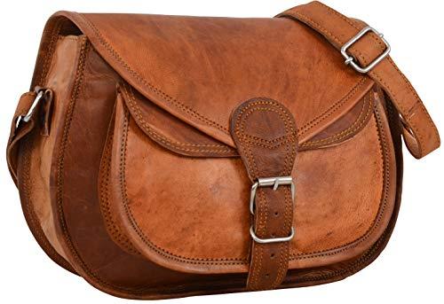 Gusti borsetta donna in pelle - Evelyn borsa a tracolla donna borsellino donna borsa donna piccola borse in pelle vintage