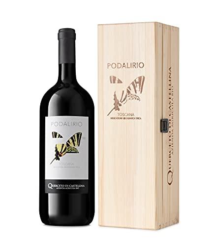 Querceto di Castellina - PODALIRIO - Igt Toscana - 2017 - Magnum - Vino Rosso Biologico - 1500 ml (1)