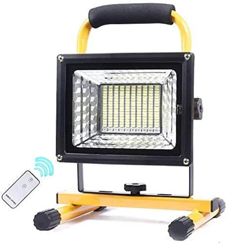 500W Tragbar Bauscheinwerfer LED Akku,...