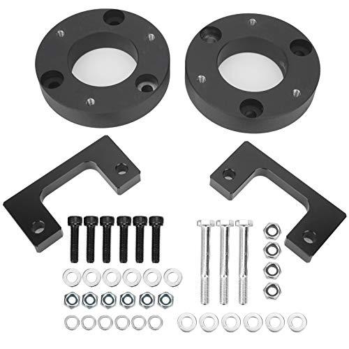 Kit de nivelación frontal, par de espaciadores de elevación de nivelación frontal, ajuste de 3 pulgadas para Chevy Silverado/GMC Sierra GM 1500