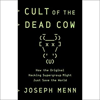 Cult of the Dead Cow audiobook cover art
