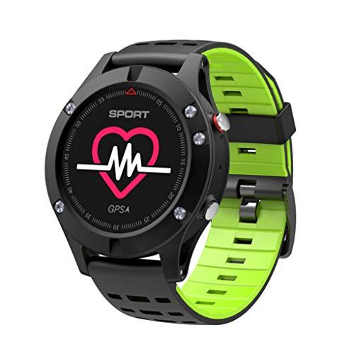 Reloj Inteligente monitorización del Ritmo cardíaco del Deporte Profesional posicionamiento GPS al Aire Libre de la muñeca del Reloj de Bluetooth Bluetooth compatibles iOS Android App