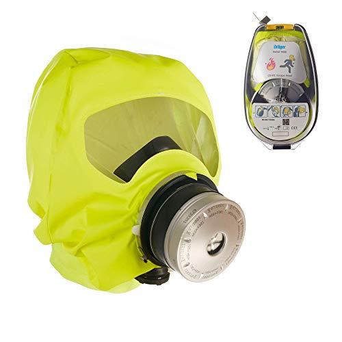 Dräger 5530 Parat Brand-Fluchthaube im robusten Hard Case | Effektive Rettungshaube zum Schutz vor Brandgasen, Kohlenmonoxid (CO)