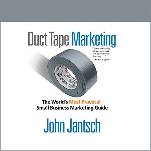 Duct Tape Marketing (Revised and Updated) audiobook cover art