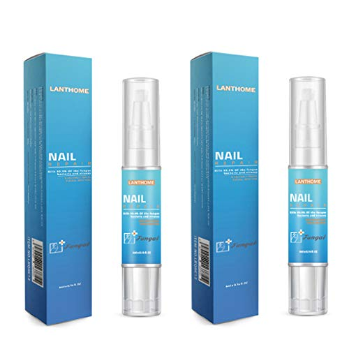 Finebuying 2 Stücke Nagelpflege Nagelregeneration Bio-Pen Nail Care Pen Nail Repair für graue Nägel, Pflegenägel, helle Nägel, Kräuterformel (Blau)