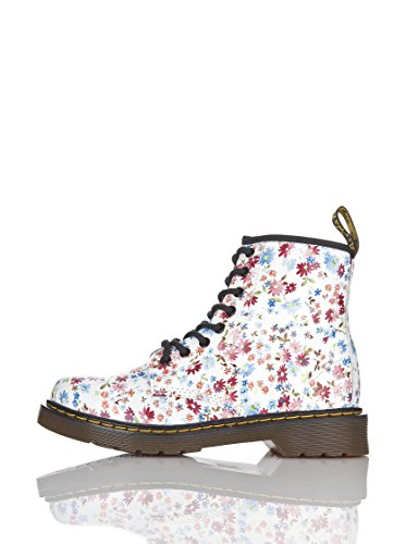 Dr. Martens Mädchen Delaney Little Flowers Derby, Blau (Blue), 28 EU