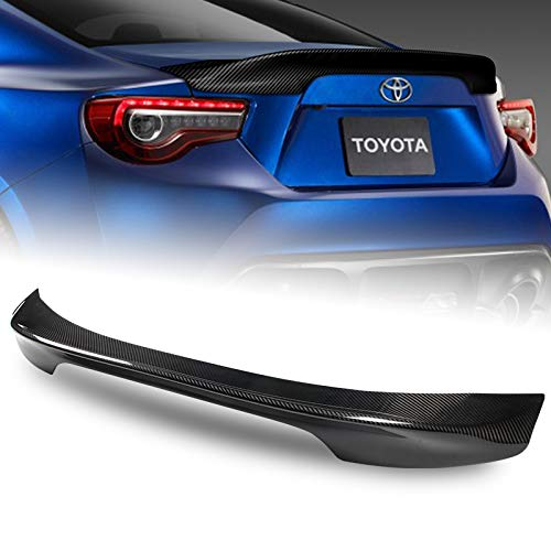 EPARTS TR-D Style Carbon Fiber Rear Spoiler Wing Trunk Lid Extended Spoiler Compatible with 2013-2017 Scion FR-S Subaru BRZ