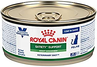 Royal Canin Veterinary Diet Feline Satiety Support Weight Management Loaf in Sauce Canned Cat Food 24/5.8 oz