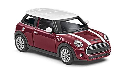 Mini Cooper S Miniatur 1:36 Modellauto Miniatur Rückziehauto 80442447939 (Rot)