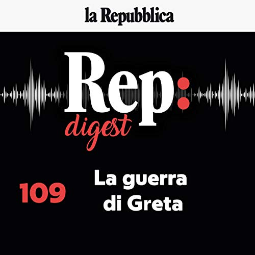 La guerra di Greta audiobook cover art