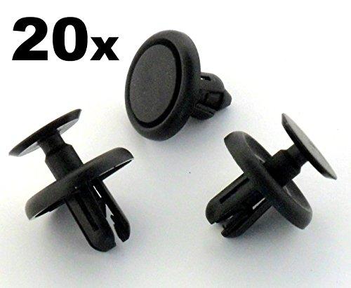For T oyota BEFESTIGUNG Clips / Klips x 20 - Dieser Clip passt ein 7mm Loch - 90467-07201 / 9046707201 - KOSTENLOSER VERSAND