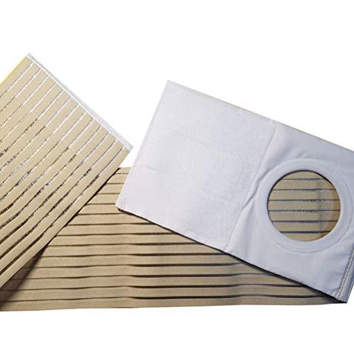 HEALIFTY Medizinischer Stomagürtel Postoperativer Stomagürtel Fixierbares Bauchband Elastisches, atmungsaktives Bauchband für Mann, Frau (XL)
