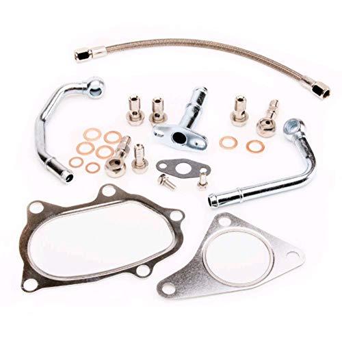 Turbo Oil & Water Pipe Kit For SUBARU IMPREZA STI TD05H EJ20 EJ25 (Complete)
