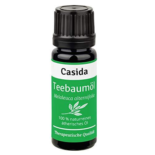 Teebaumöl Naturrein - Ätherisches Öl - Therapeutische Qualität – Teebaum Öl für Aromatherapie, Aromadiffuser - Aus der Apotheke - 10 ml