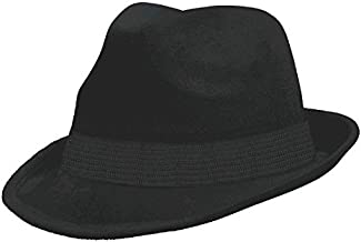 Amscan Velour Fedora, Party Accessory, Black