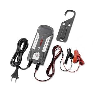 Bosch C3 6/12V Negro Cargador de batería para vehículos C3, 6/12, Tipo C (Europlug), 3,8 A, 0.8/3.8, Descarga de la batería, Sobrecarga, Sobrecalentamiento, Polaridad inversa,