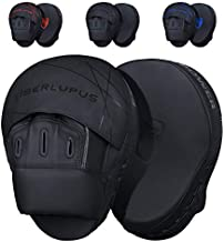 Liberlupus Boxing Focus Mitts for Training and Exercise Workout, Punching Mitts and Pads for Indoor Use, Thicken Padding Sparring Paddles for Kids Men Women, for Kickboxing Martial Arts Muay Thai MMA