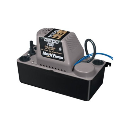 Liberty Pumps LCU-20ST Automatic 1/30 HP Compact Condensate Pumps with Safety Switch and 20-Feet Tubing