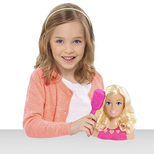 JP Barbie JPL63416 Barbie Mini Styling Head-Blonde, Multicolor