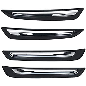 Dapidx Plastic Car Bumper Guard (Swift 2018) Crome Insert O.E Type