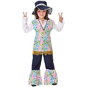 DISBACANAL Disfraz Hippie niña - -, 10 años: Amazon.es: Juguetes y ...