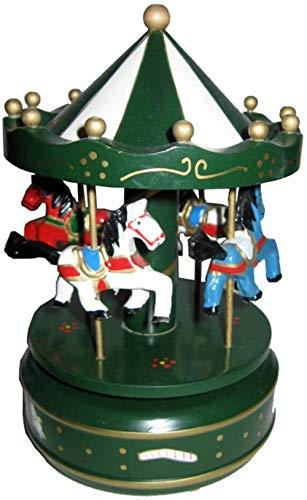 Juguete Decorativo Infantil de Madera TIOVIVO Musical Verde