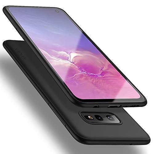 X-level für Samsung Galaxy S10e Hülle, [Guardian Serie] Soft Flex TPU Case Ultradünn Handyhülle Silikon Bumper Cover Schutz Tasche Schale Schutzhülle Kompatibel mit Galaxy S10e 5,8 Zoll - Schwarz