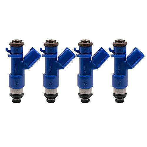 GzYcsFocusqp 4 pcs Brand new gasoline injector Compatible for Honda Acura 1996-2006 RDX 410cc 16450-RWC-A01