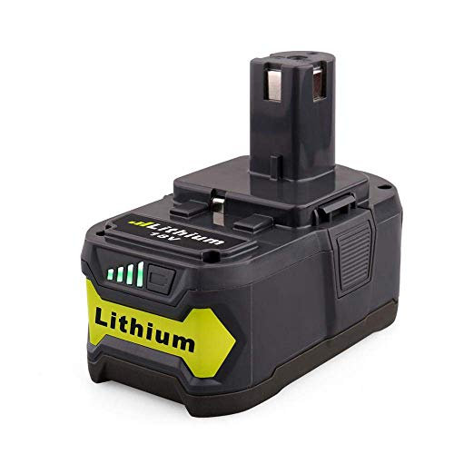 FUNMALL 18V 5.0Ah Batería Repuesto para Ryobi Batería ONE+ P108 P107 P122 P104 P105 P102 P103 RB18L25 RB18L15 con Indicador de Carga