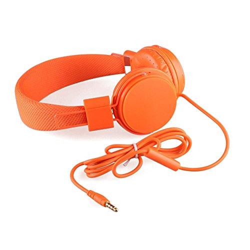 Venta de liquidación. Charberry - Auriculares de Diadema con micrófono y micrófono para niños, Plegables, Ajustables