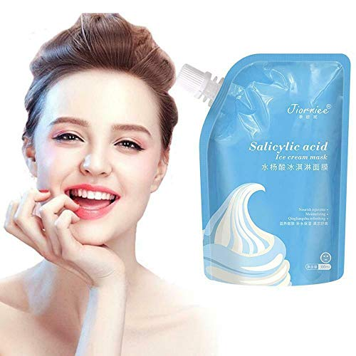 ORCCAC Salicylic Acid Ultra Cleansing Mask Ice Cream Mask,Moisturizes and Controls The Oil,Improves Texture of The Skin,for ALL Skin Types