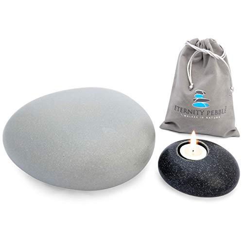 Eternity Pebble Urn C (Grey, Large)