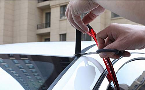 TRUE LINE Automotive 6 Feet Car Windshield Weather Seal Rubber Stripping Trim Cover Leak Sound Proofing Kit
