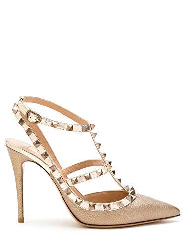 Moda De Lujo | Valentino Garavani Mujer VW2S0393NNFS69 Rosa Cuero Zapatos De Tacón | Ss21