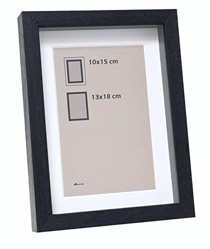 Marco 30x 40Madera Negro Marco de Fotos con Profundidad, Negro, con pptt–Pedidos tamaño = tamaño Precio por Pieza