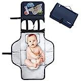 Pomelo best Cambiador portatil de pañales para bebe Impermeable | Kit Cambiador...