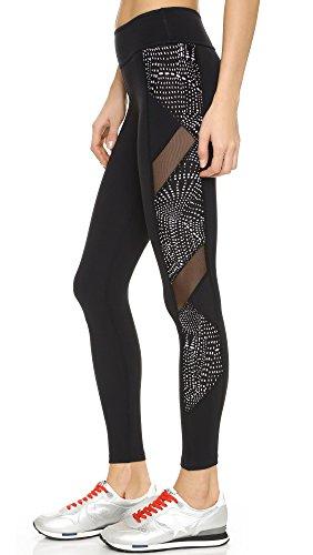 Beyond Yoga Spliced and diced Malla Leggings, Color Negro, tamaño Medium