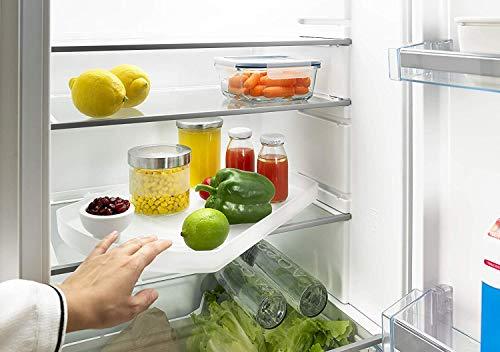 Hettich ComfortSpin Drehteller 360° drehbar (für Kühlschrank, Badezimmer; lebensmittelecht, Maße 42,5x28,5 cm) 9264627