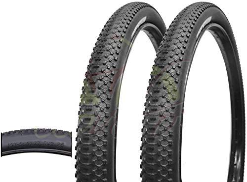 DEESTONE - 2 neumáticos de Bicicleta de montaña 27,5 x 2,25 MTB 57-584 rígidos