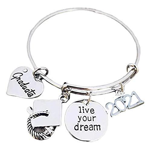 Infinity Collection Graduation Bangle Bracelet-Graduation Gift, for...