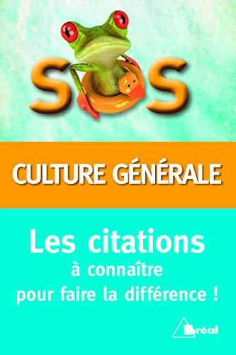 SOS citations culture générale