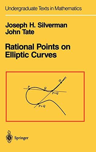 Rational Points on Elliptic Curves (Undergraduate Texts in Mathematics)