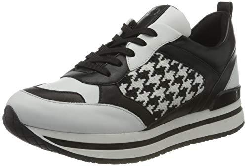 Gerry Weber Shoes Damen California 02 Straßen-Laufschuh, Weiss-schwarz,42 EU Schmal