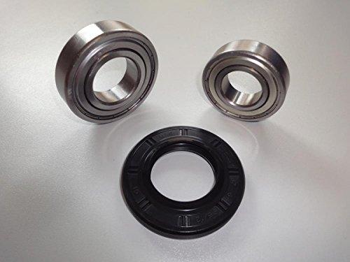 Trommellager Kugellager Lagersatz Reparatursatz passend für Laugenbehälter Waschmaschine von Bomann Samsung und LG Günstig E-Nr beachten.